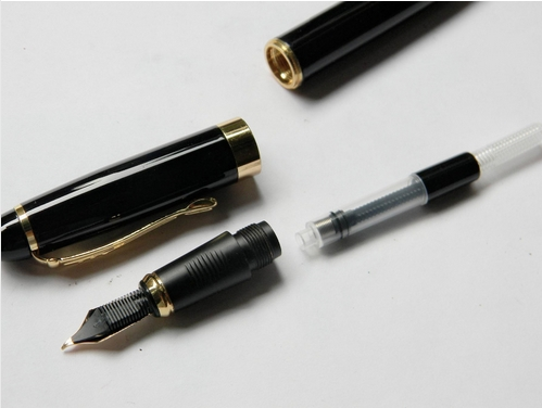JINHAO X450 CALLIGRAPHY NIB BLACK GOLDEN